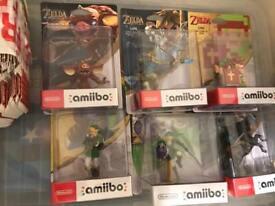 Nintendo amiibos. Link zelda brand new.