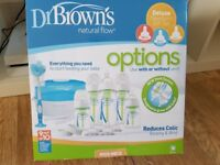 Dr browns bottles and steriliser