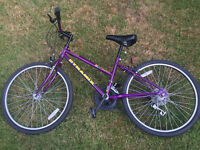 Girls Purple DYNAMIX Mountain Bike 23'' tyres - up to 10 Speed Shimano
