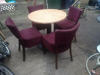 Table and chair set, quality from well known establishment, very hard wearing l@@k