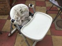 Mamas and pappas fold away high chair