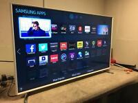 """48"""" Samsung white Full HD 3D smart tv"""