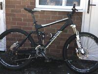 Canyon downhill mountain bike