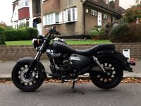 2016 Keeway Superlight Limited 125cc - Black - Cruiser / Chopper Motorbike ONO