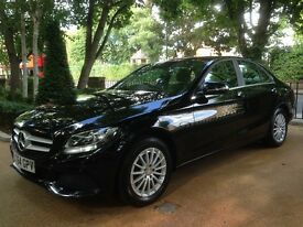 Mercedes C Class 2.1 C220 CDI BlueTEC SE 4dr 64 reg 1 owner from new full service history p/x welcom