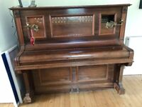 Waldberg Berlin upright Piano for sale
