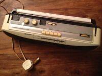 vintage sharp cassette radio QT-250A