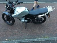 Yamaha ybr125 learner legal