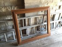 Double Glazed Window with A-Rated Glass - Sherwood Oak (Brown)