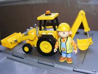Bob the builder toys (asnew) figures & trucks ect .
