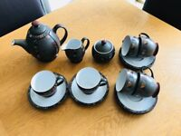 Genuine Denby Tea Service - Marrakesh Pattern. Immaculate Condition!