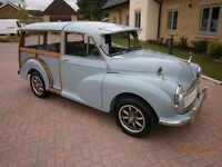 1968 MORRIS TRAVELLER NEW MOT NO ADVISORIES NEEDS BE SEEN