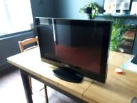32 inch Technika with built in DVD