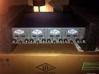 Universal Audio 4-710d Twin Finity 4 Channel Pre Amp (MINT)