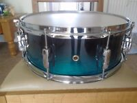 Mapex Meridian Snare Drum 14 x 5.5 2 tone green fade brand new