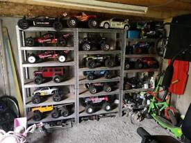 Massive selection of Rc cars for sale