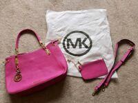 Michael kors handbag / clip on purse