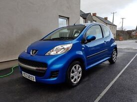 09 Peugeot 107, 39k miles, 1 lady owner from new, MOT'd to Oct