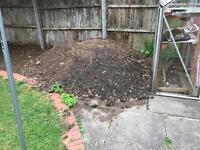 Free Garden top soil