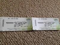 30 Seconds to Mars Tickets x 2 - 25th March SSE Hydro, Glasgow
