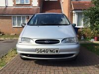 Ford Galaxy Ghia 2.3i. Full service. All fluids and filters just done, and brand new front pads.