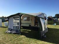 Elddis Whirlwind XL 2-berth caravan