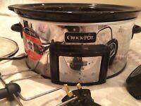 Crock pot 5.7L slow cooker. Auto stir used 3 times