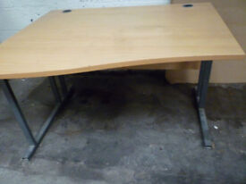 Wooden office desk or for home work use