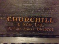 Churchil & Son upright piano for sale