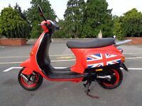 2001 PIAGGIO VESPA ET2 50 70CC KIT SCOOTER MOPED 50MPH+ A1 RUNNER NEW TAX + MOT