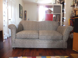 Victorian drop-arm 2 seater sofa