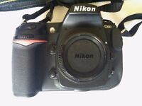 Nikon d300 dslr with 35mm 1.8, very low shutter counter only 10000