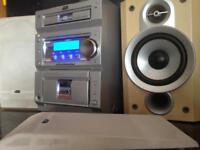 JVC Radio/CD Player with Tape Deck