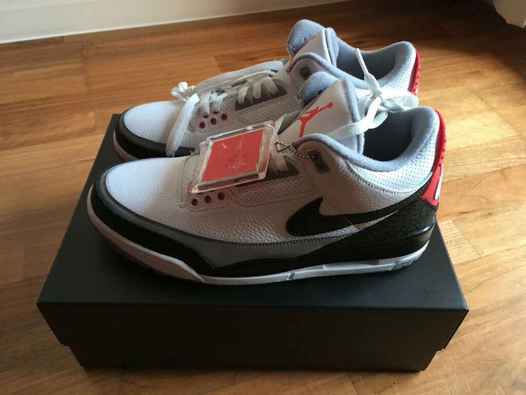 NIB NIKE AIR JORDAN 3 RETRO TINKER NRG - UK SIZE 10  cd37af236