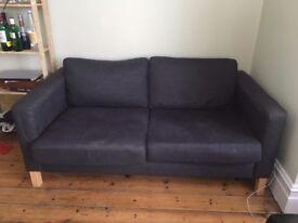 Blue/Grey Sofa