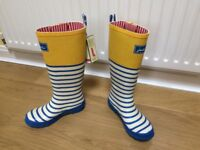 Joules Wellington Boots - brand new with tags - UK 4 / Eur 37 - HALF PRICE