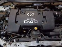 Toyota Avensis 2.0 D4D Engine Bare (2003)