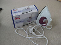 Small steam iron - full working order - can be seen working if required.
