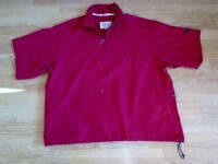 PROQUIP MENS RED WINDSHIELD SHORT SLEEVE TOP - XXL