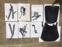 JOB LOT OF CBR600RR 2006 PARTS - PEGS CLUTCH LEVER PEDAL RELAY MORE SEE PHOTOS
