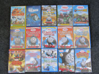 DVDs - 13 Thomas The Tank - Finding Nemo - Open Season 2 - 15 in total Collect Horndean - Toy Thomas