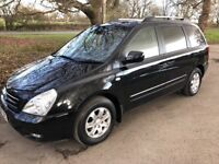 Kia Sedona LS Automatic. 7 seat MPV. Superb car with low mileage in stunning condition. New MOT.