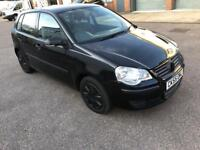 Volkswagen polo 1.2 Petrol 5dr hatchback manual 2005 55 plate mot taxed hpi clear