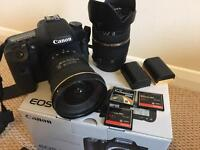 Quick sale! Canon 7D and 2 professional lenses + extras