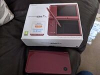 DSI xl boxed with all instructions plus 12 boxed games
