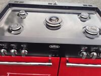Red belling range cooker mint condition