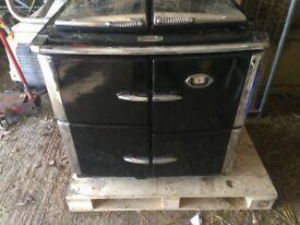 Rayburn Cookmaster XT / Oil / Black