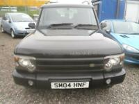 LAND ROVER DISCOVERY 2.5 Td5 Pursuit 5 seat 5dr LOVELY IN BLACK 7 SEATER LONG MOT. A GOOD TRUCK 2004