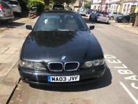 BMW 520ies se 2.2lt black auto 2003