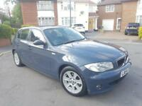 BMW 1 SERIES 120D 2005 05 SPORT 5 DOOR DIESEL